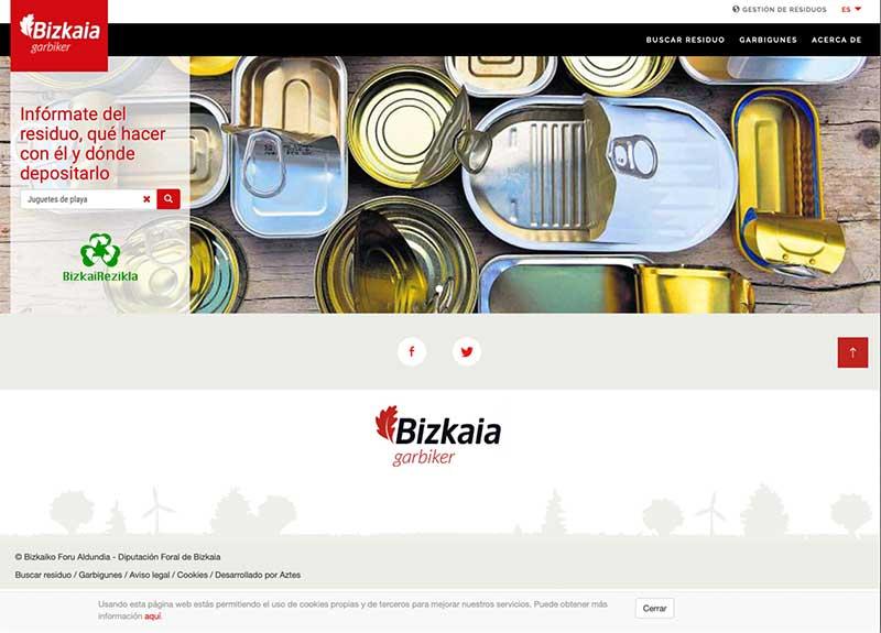 Web BizkaiRezikla